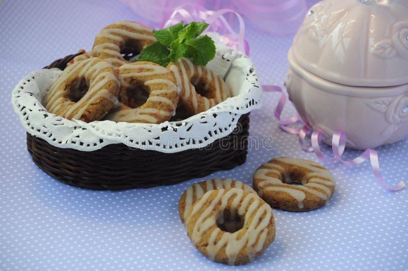 Cherry Cookies 06 royalty-vrije stock afbeelding