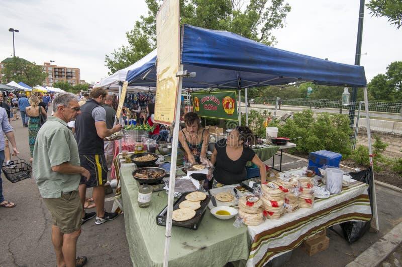 Cherry Creek Farmers Market imagens de stock