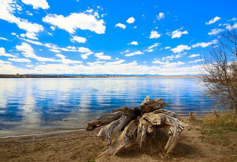 Cherry Creek Reservoir, Aurora Colorado royalty free stock images