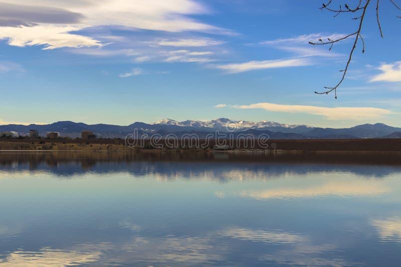Cherry Creek Reservoir lizenzfreies stockbild