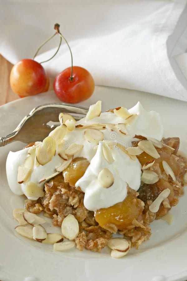 Download Cherry Dessert stock image. Image of crumble, cuisine - 20537535