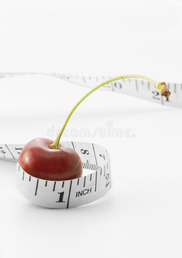 Cherry diet royalty free stock image