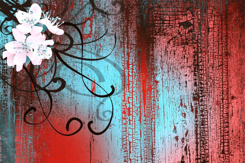 Download Cherry flower stock illustration. Illustration of plant - 19176374