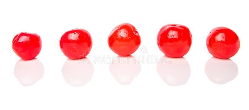 Cherry Fruit conservado en vinagre IV imagen de archivo