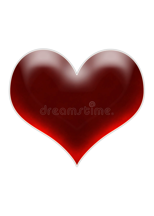Free Cherry Heart Stock Images - 896344