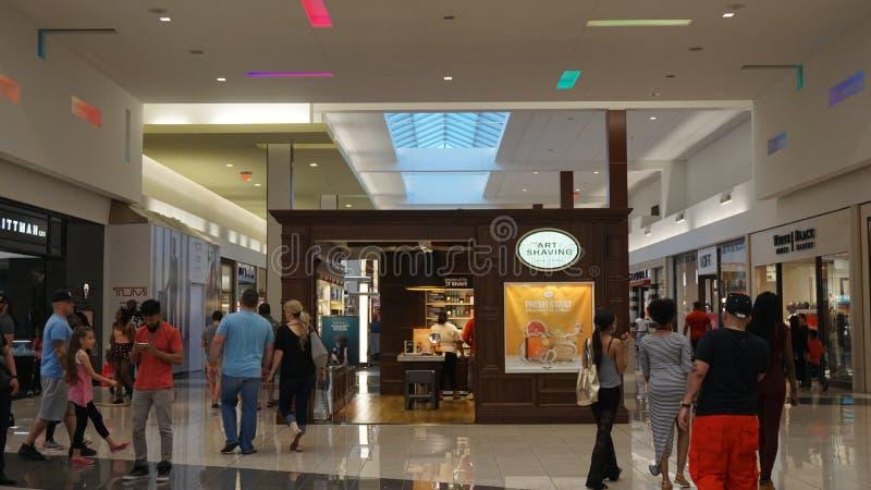 Cherry Hill Mall dans le New Jersey images libres de droits