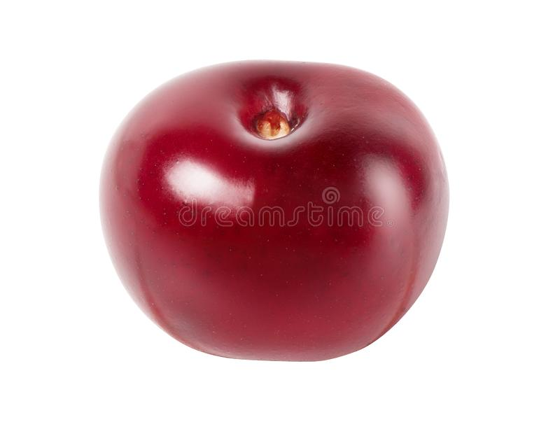 Cherry isolated on white stock photography
