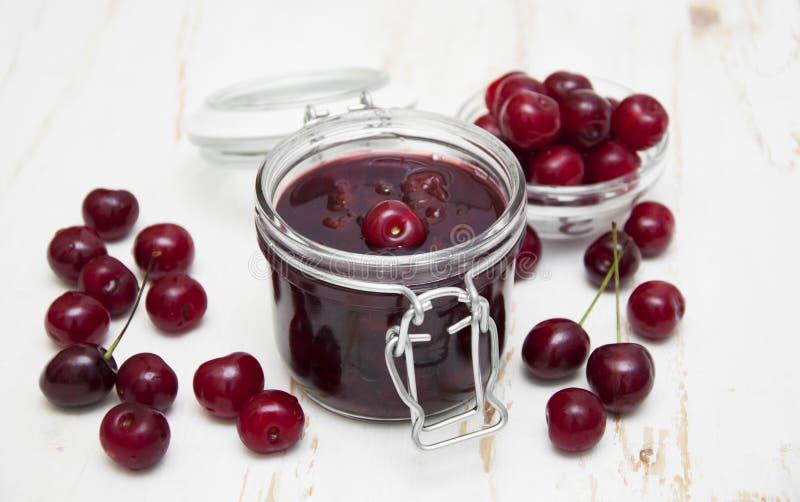 Cherry Jam arkivbilder