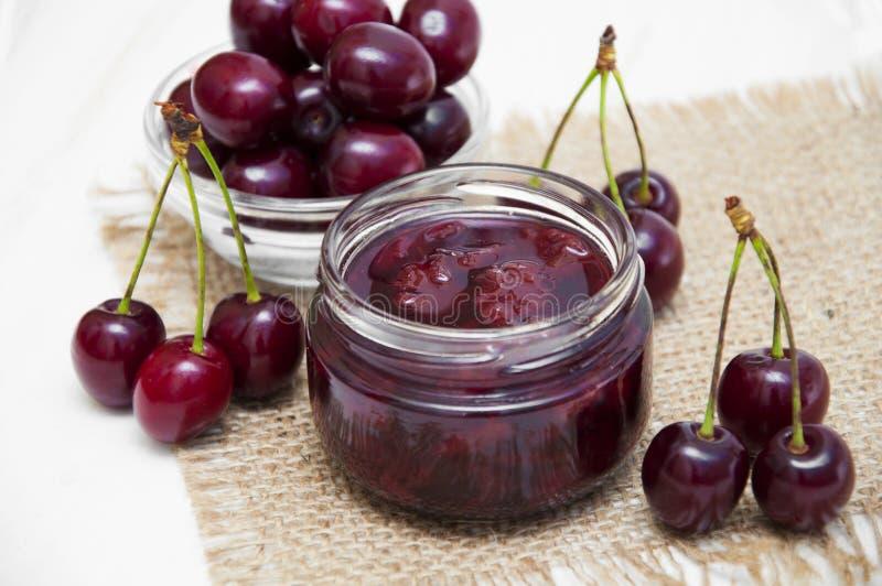 Cherry Jam royaltyfria bilder