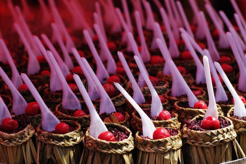 cherry jedzenie obrazy stock
