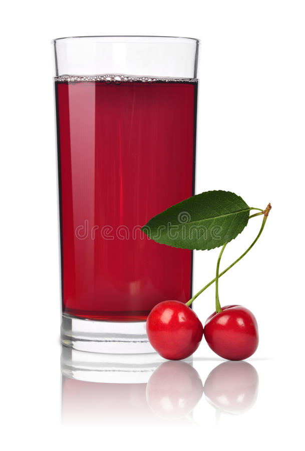 Download Cherry juice stock photo. Image of bright, food, isolated - 25337050
