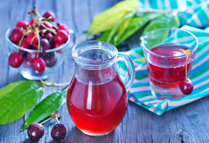 Cherry Juice imagens de stock royalty free