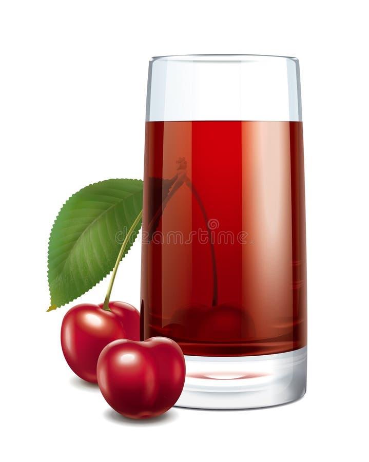Cherry juice stock images