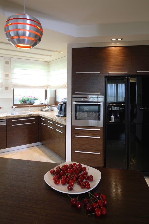 Cherry Kitchen royalty free stock photos