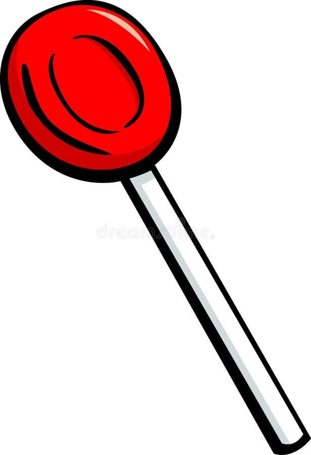 Download Cherry Lollipop Candy Vector Illustration Stock Vector - Image: 15971896