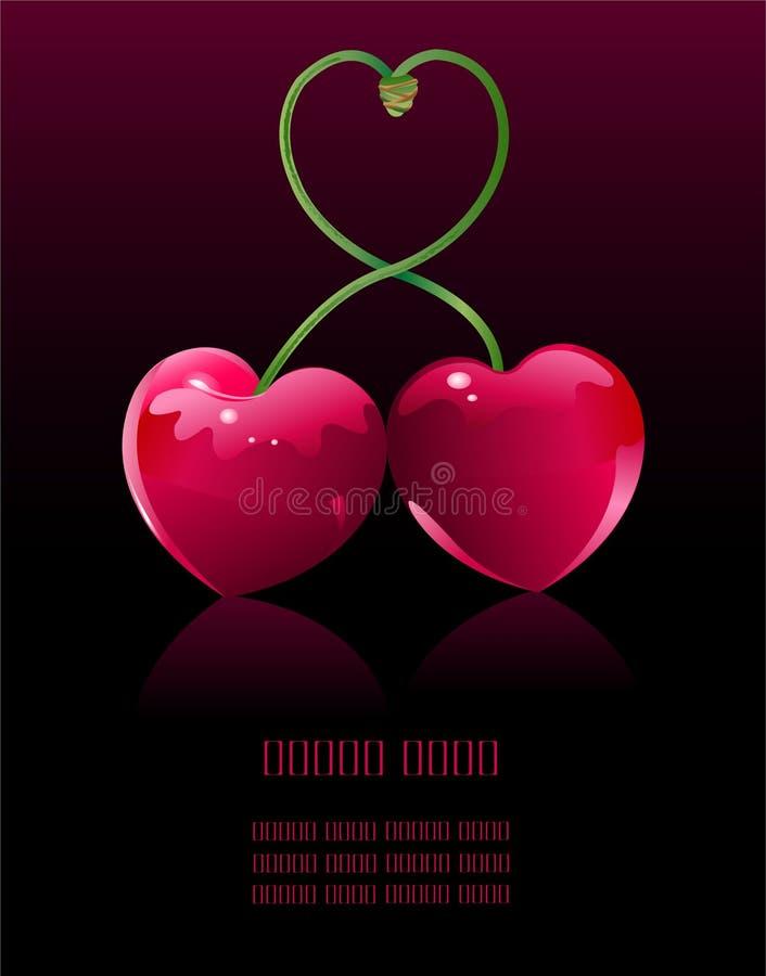 Free Cherry Love Royalty Free Stock Photo - 12464015