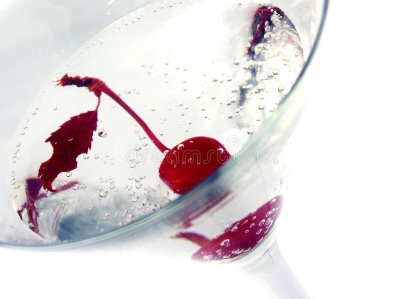 Cherry martini stock photos