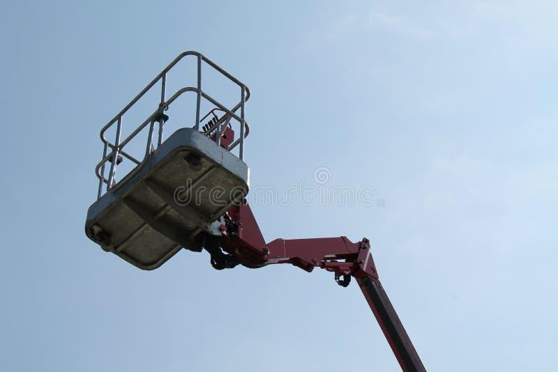 Cherry Picker Lift lizenzfreies stockfoto