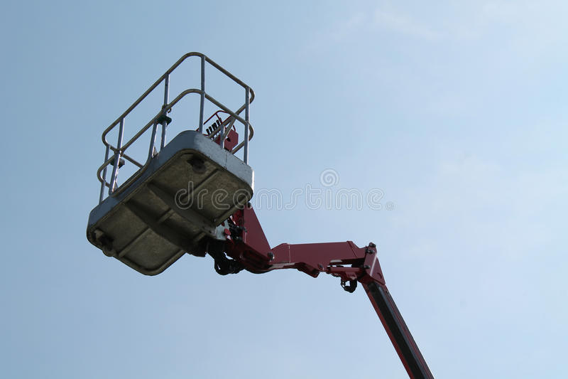 Cherry Picker Lift. royalty free stock photo