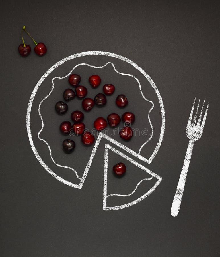 Cherry Pie imagen de archivo