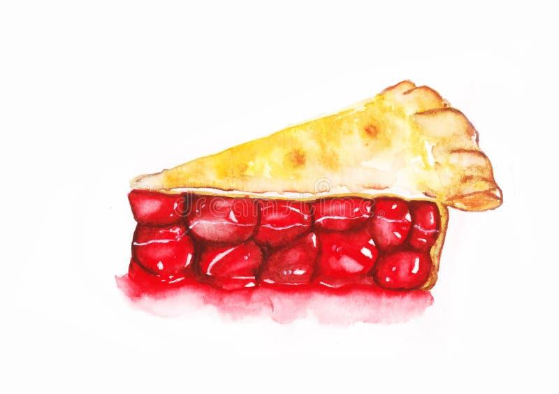Cherry Pie stock de ilustración