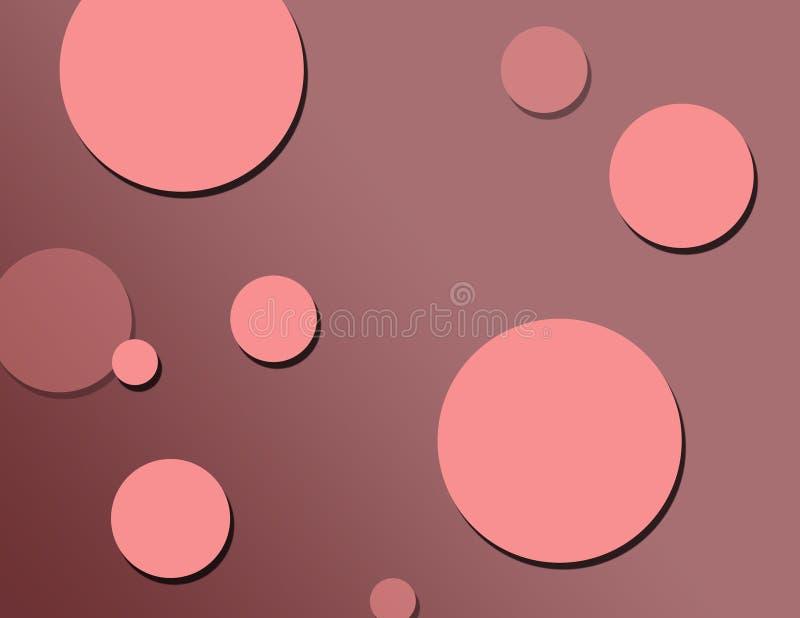 Cherry Pink Polka Dots Royalty Free Stock Photo