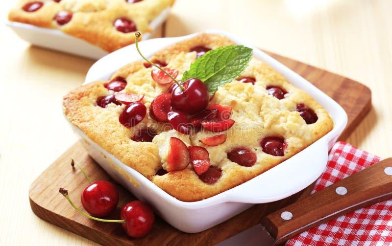 Download Cherry Sponge Cake Royalty Free Stock Photos - Image: 10887998