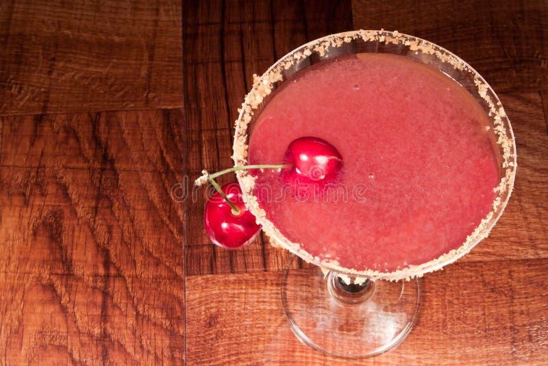 Cherry sura martini royaltyfria foton