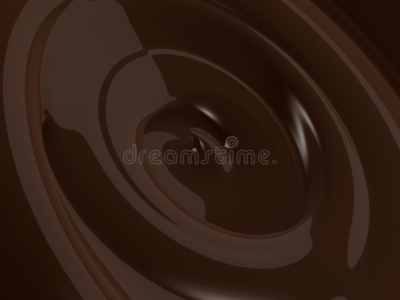 Cherry swirl royalty free stock images