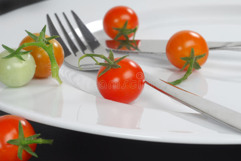 Cherry Tomato royalty free stock images
