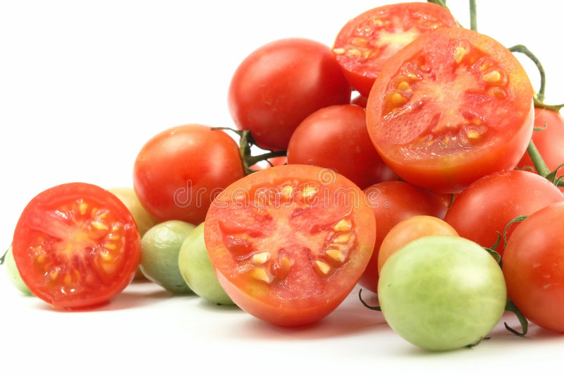 Cherry Tomato Royalty Free Stock Photos