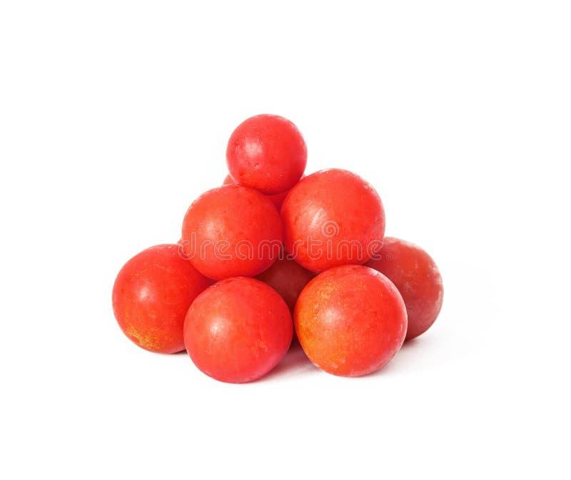 Cherry Tomato vermelho fotos de stock royalty free