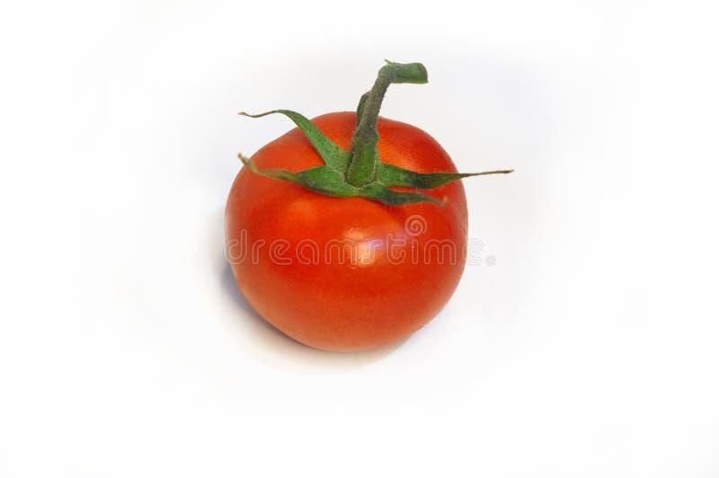 Cherry Tomato on white isolated background royalty free stock photography
