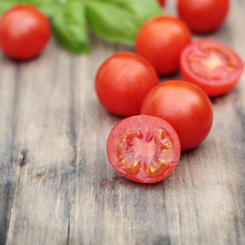 Download Cherry tomatoes. stock photo. Image of food, chopping - 22701734