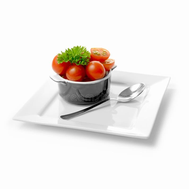 Cherry Tomatoes imagem de stock royalty free