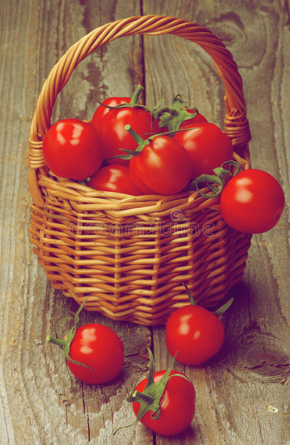 Cherry Tomatoes fotografia stock