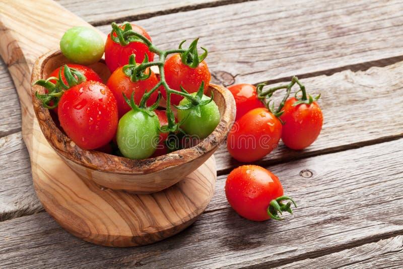 Cherry Tomatoes stockfotografie