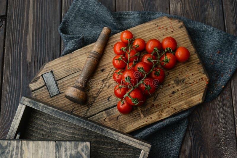 Cherry Tomatoes foto de archivo libre de regalías