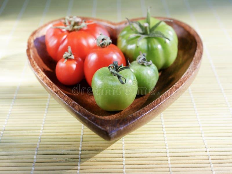 Cherry Tomatoes fresco fotografia stock libera da diritti