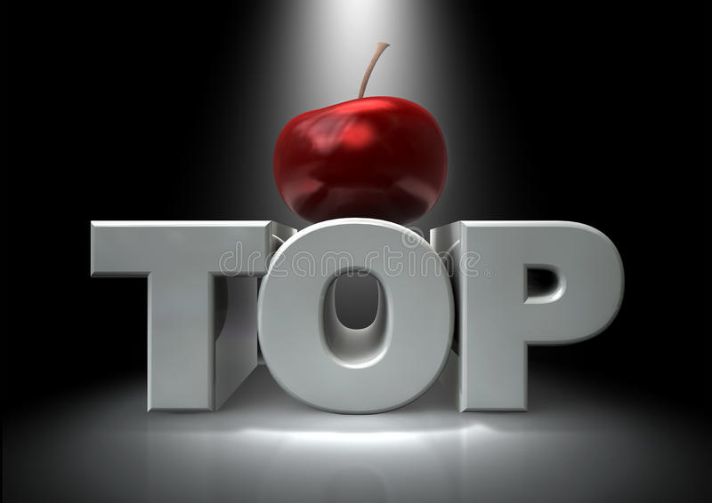 Cherry On Top Royalty Free Stock Photo