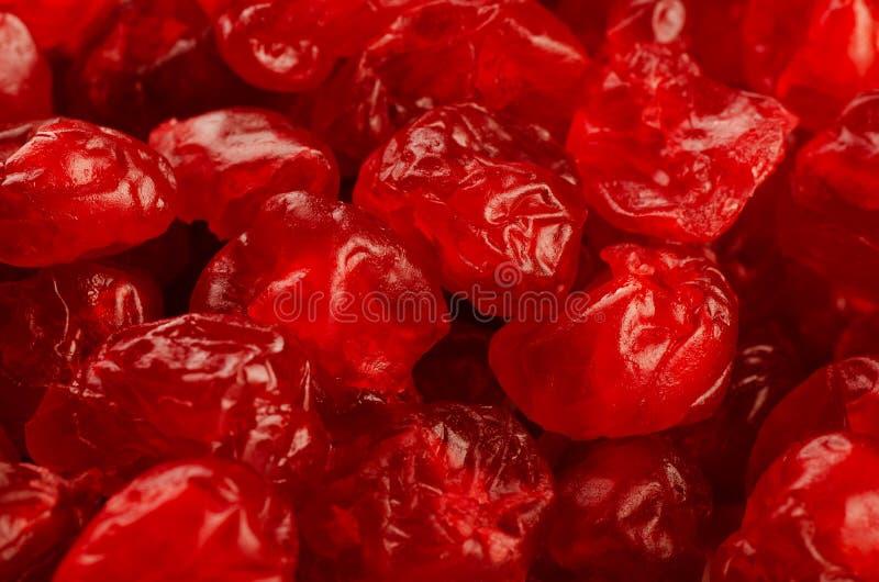 Cherry torkade red arkivbilder