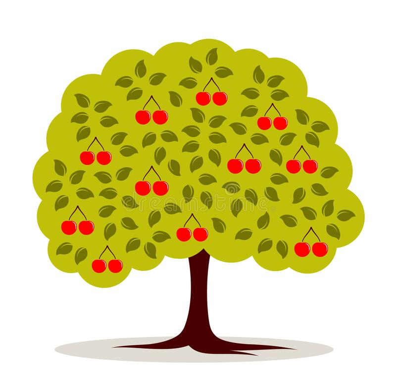 Cherry Tree vector illustratie