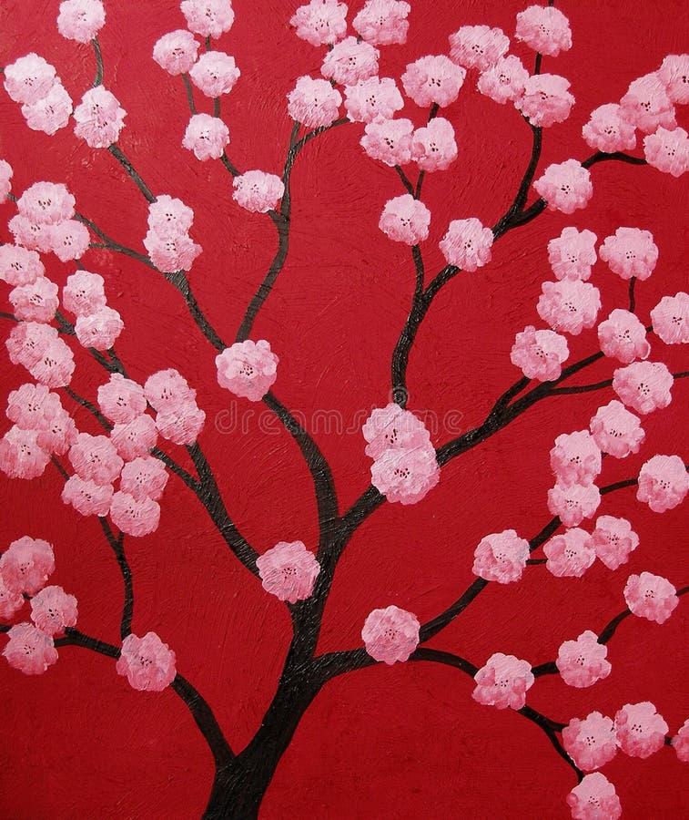 Cherry tree vector illustration