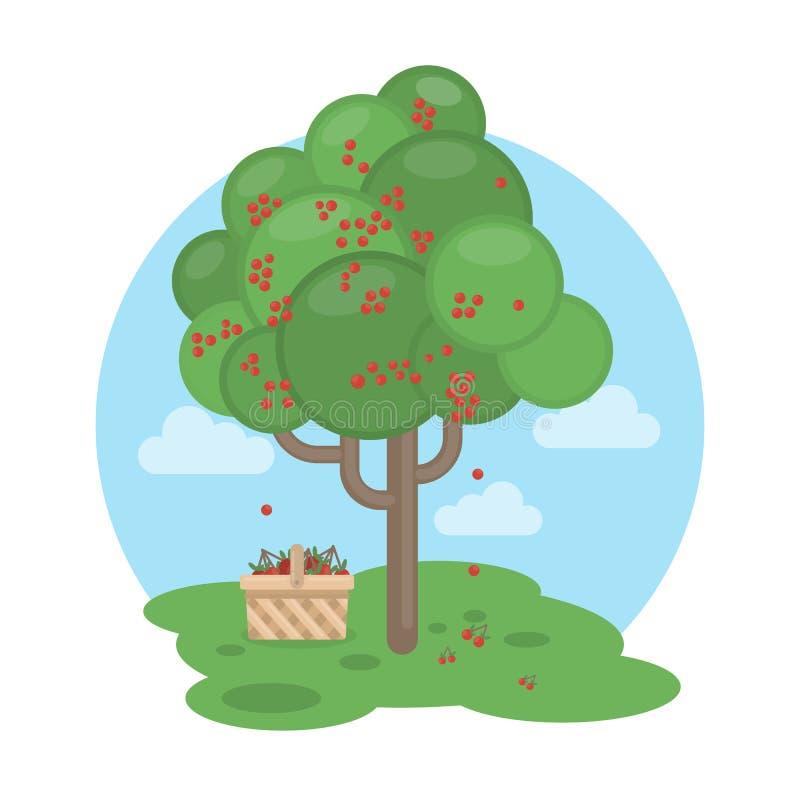 Cherry Tree illustrazione di stock