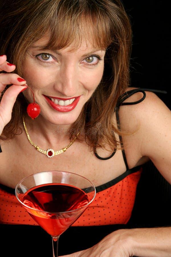 cherry uśmiech zdjęcie royalty free