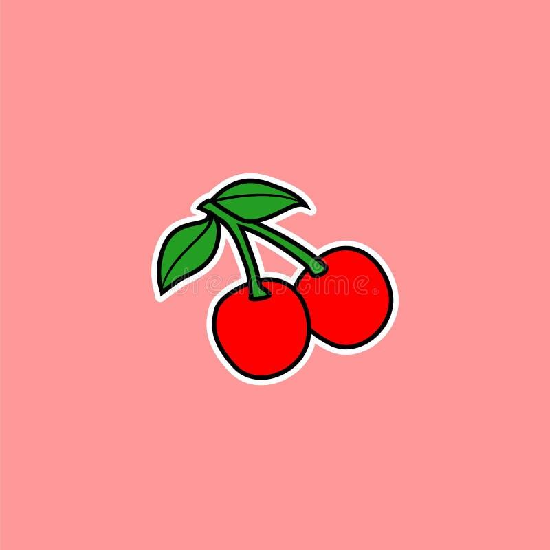Cherry Vector immagini stock