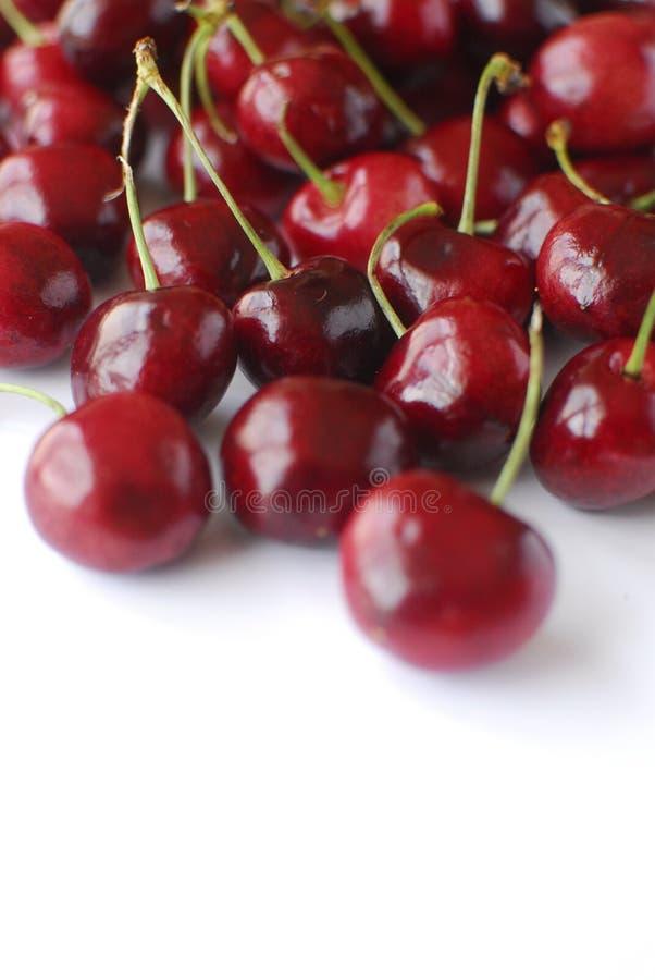 Cherrystilleben arkivbild