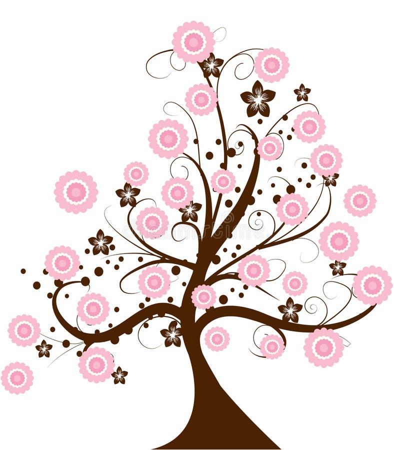 Cherrytree stock illustrationer