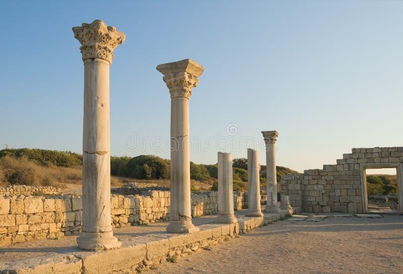 Chersonesos Taurica immagini stock libere da diritti