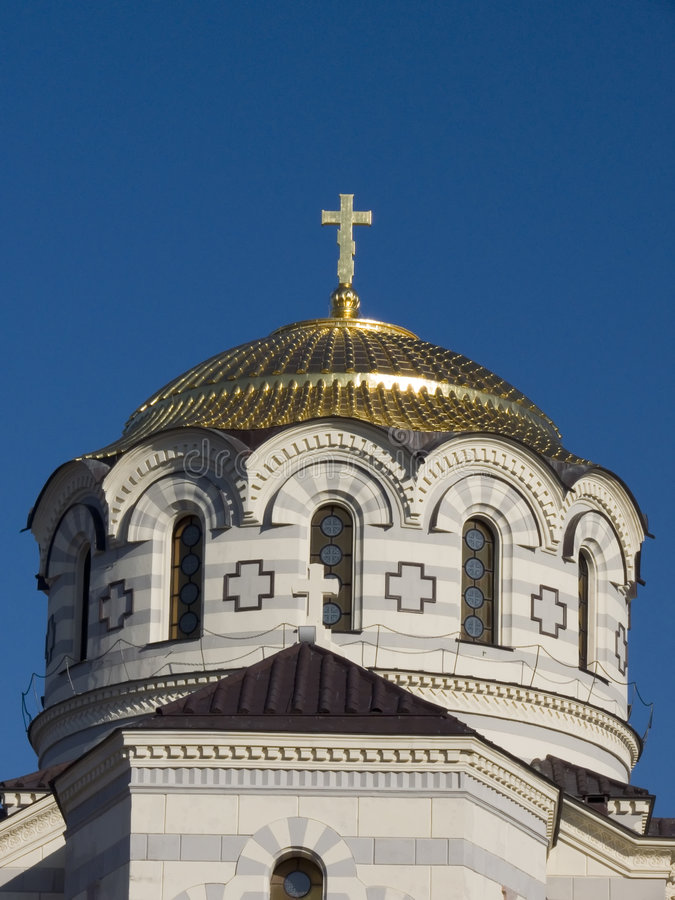 Chersonesus Cathedral stock photo